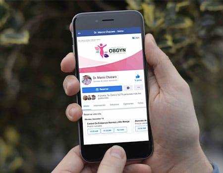 Diseño para página de Facebook
