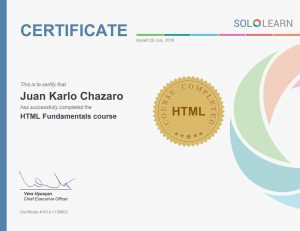 Fundamentos HTML